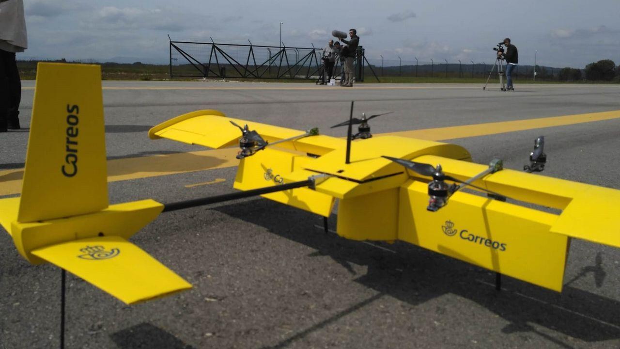 Últimas pruebas realizadas con drones por Correos