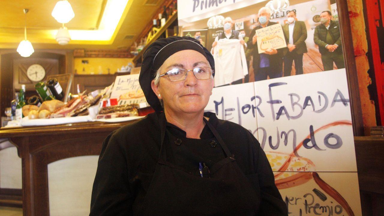 El nuevo anuncio de Armani grabado en Asturias.Ana Alonso, la cocinera del restaurante La Consistorial de Mieres