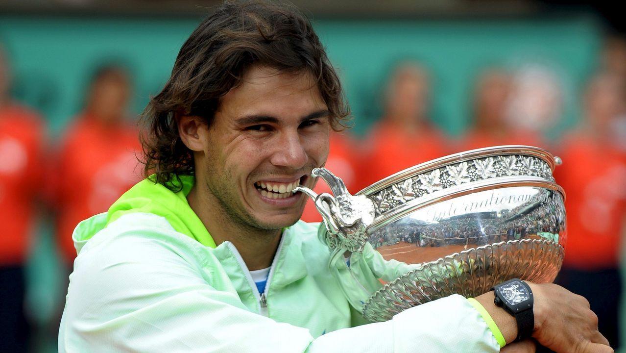 En 2010, tras dos años sin ganar, derrotó a Söderling para coronarse por quinta vez