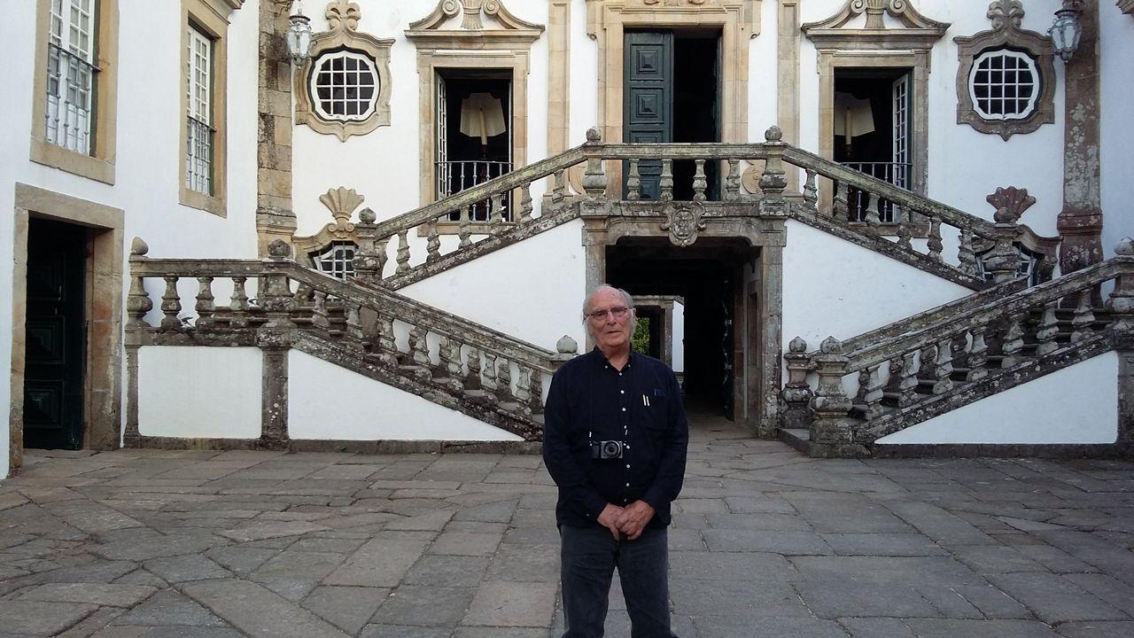 Ellos son las Medallas Castelao 2019.Carlos Saura, en la Casa de Mateus, Portugal