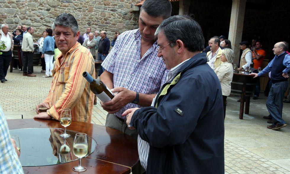 Un jurado premiará a los mejores vinos Rías Baixas y a los cosecheros particulares de Barro.