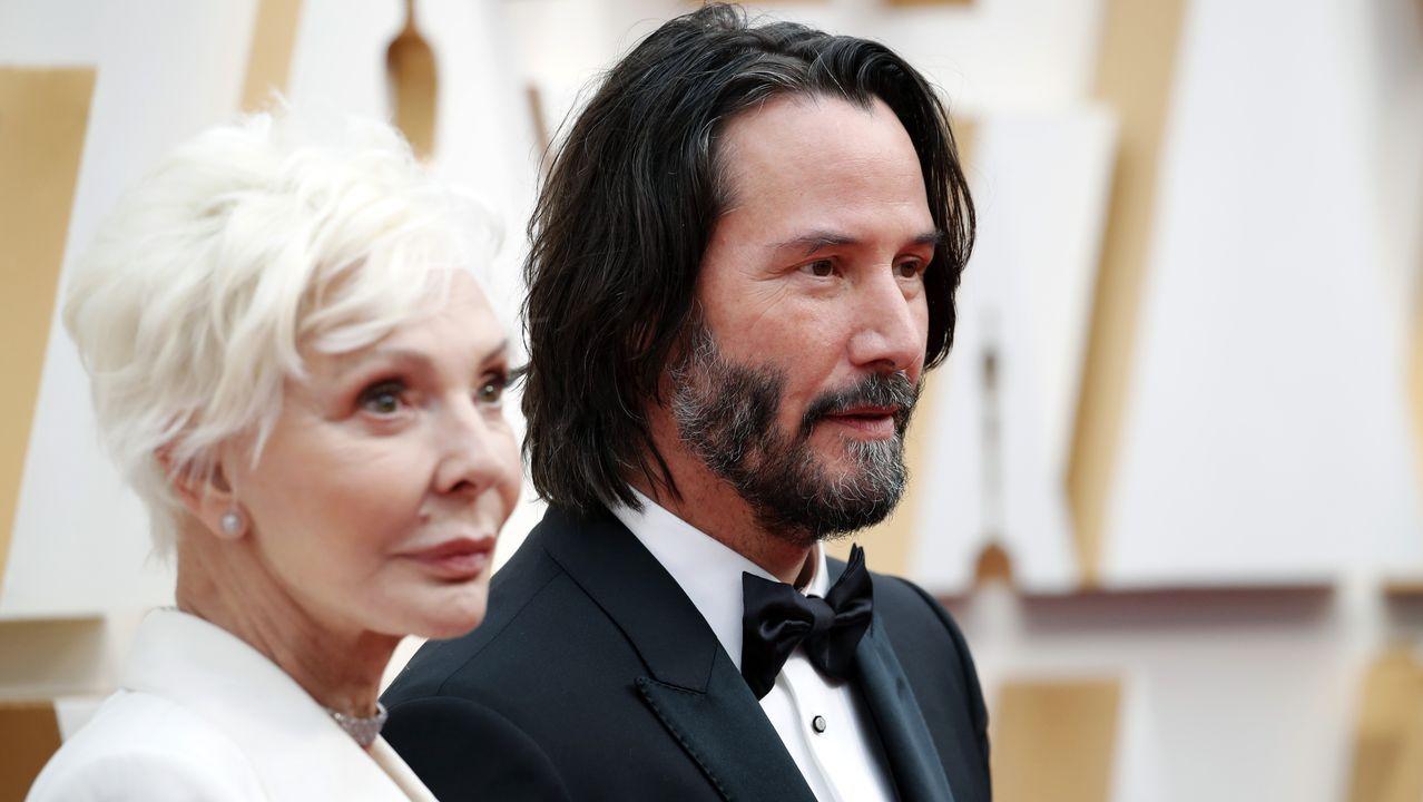 Keanu Reeves y su madre, Patricia Taylor