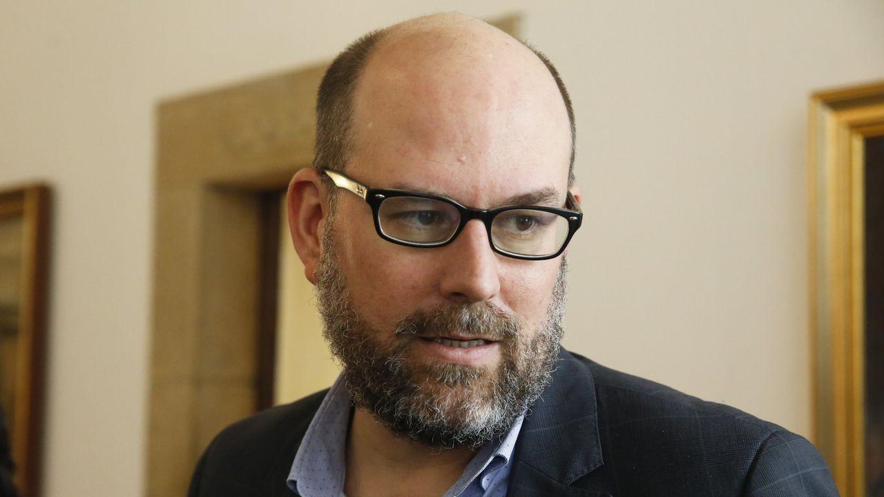 Martiño Noriega, alcalde y líder de Compostela Aberta