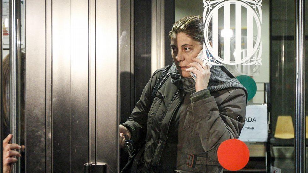 La madre de Nadia viaja a La Seu d´Urgell.Pablo Iglesias