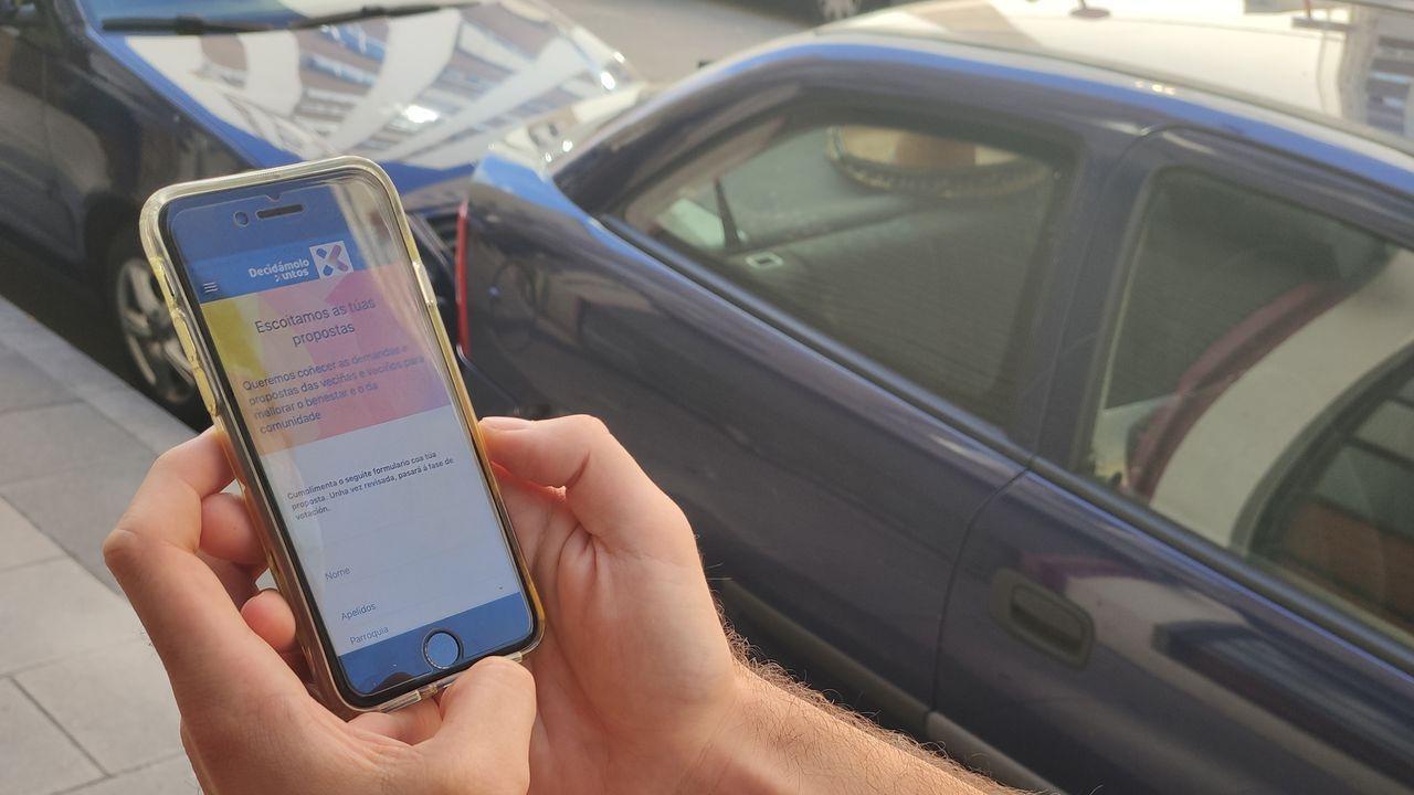 Los vecinos podían enviar sus propuestas a través de una aplicación móvil
