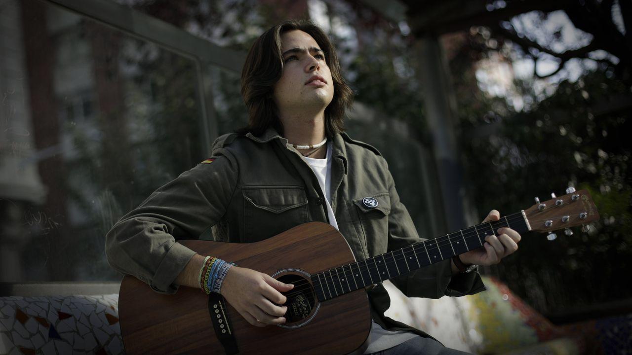 Otto Mondelo, cantante de A Coruña