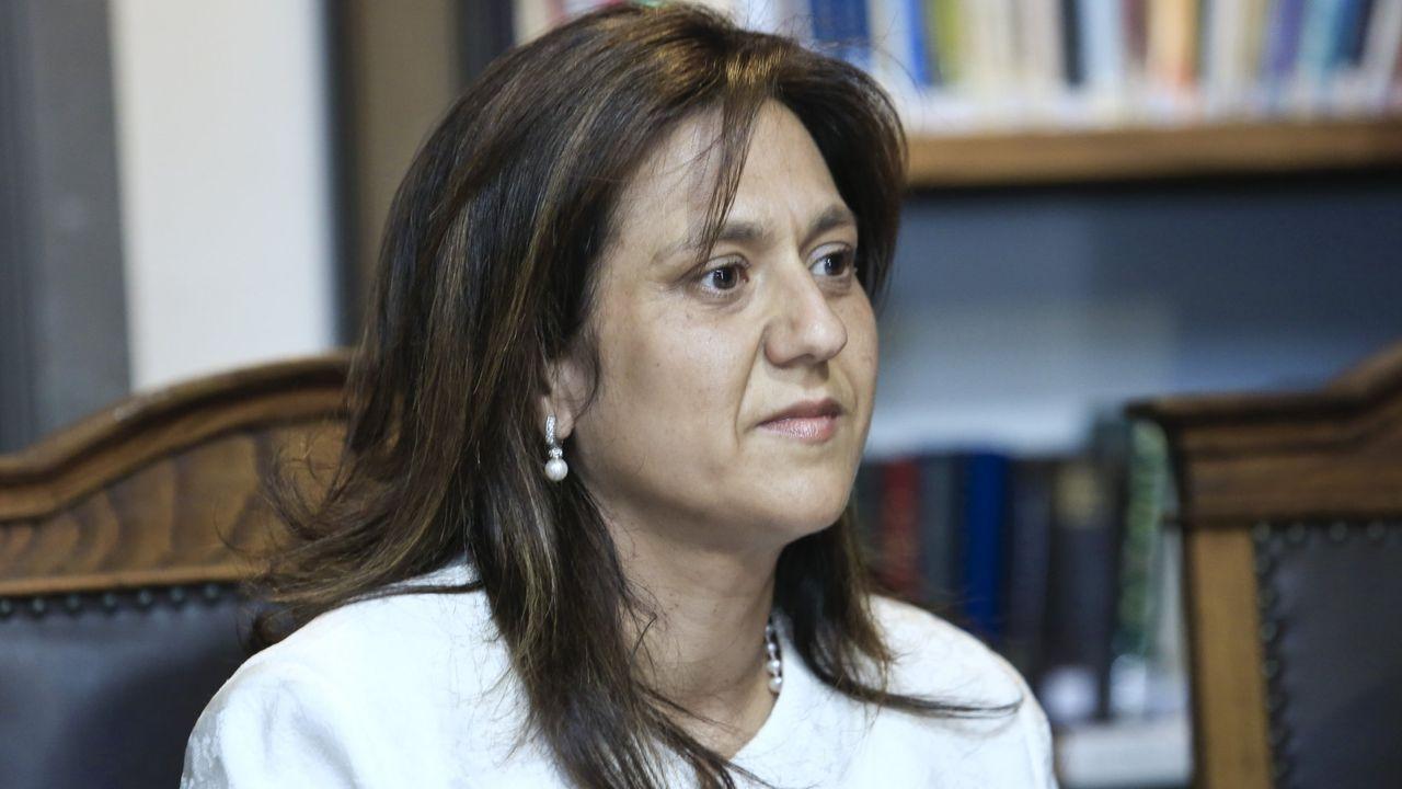 Cándida Carnero, concejala de Servizos Sociais, en una imagen de archivo