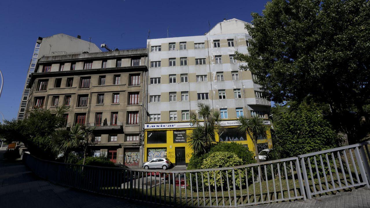 La vivienda ocupada está en el número 10 de la calle Montevideo