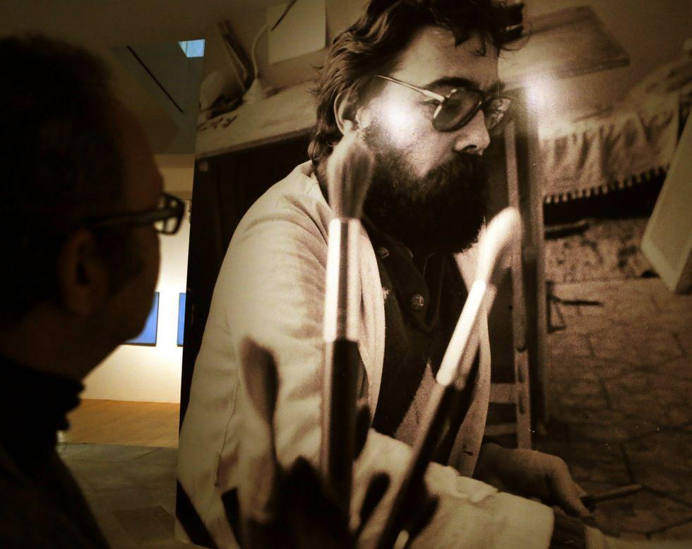 El Marco acoge en la actualidad una exposición sobre el vigués Francisco Mantecón.