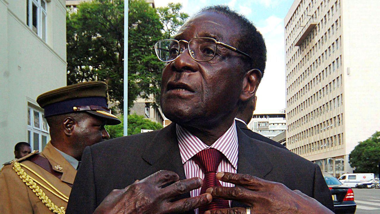 Robert Mugabe, en una imagen de archivo