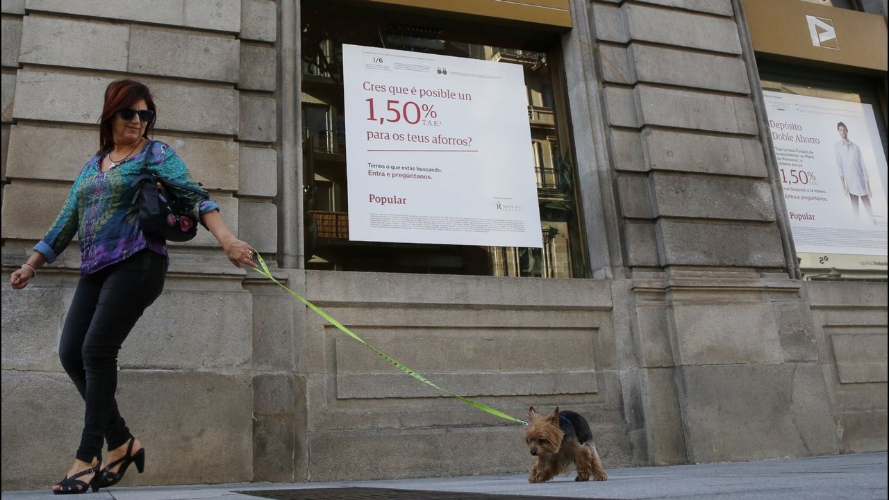 Sede del Bankia en Madrid
