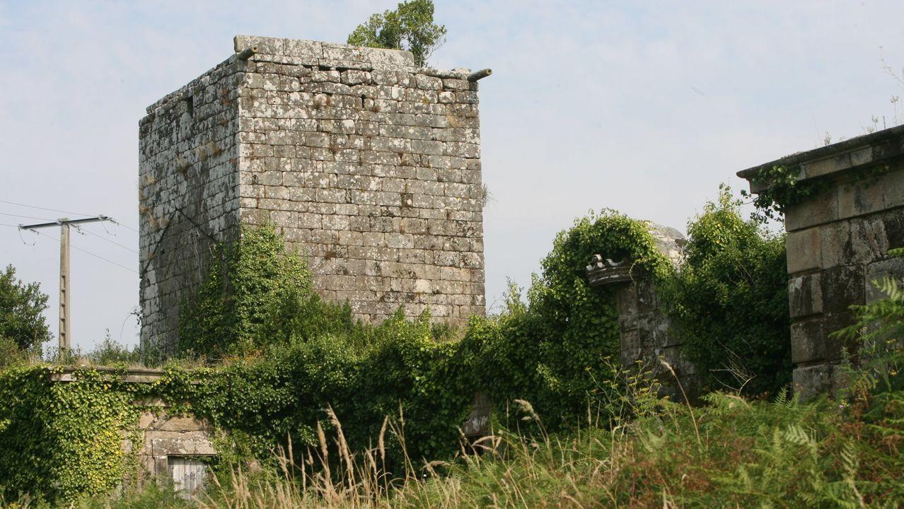 Torre de Guimarei, A Estrada