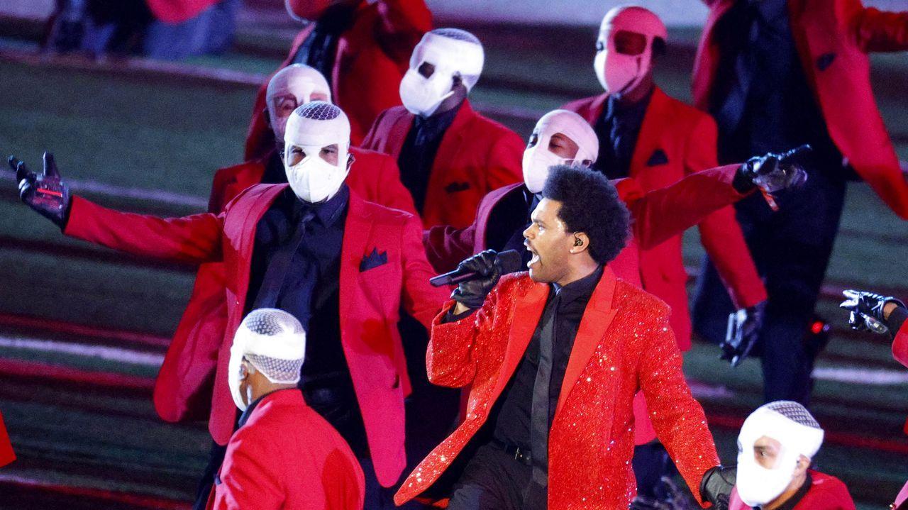 Actuación de The Weeknd en la Superbowl