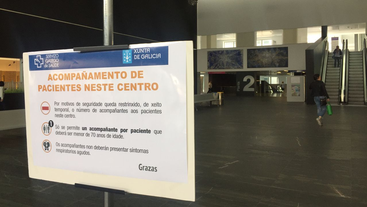 Dispositivo en el Hospital de Lugo