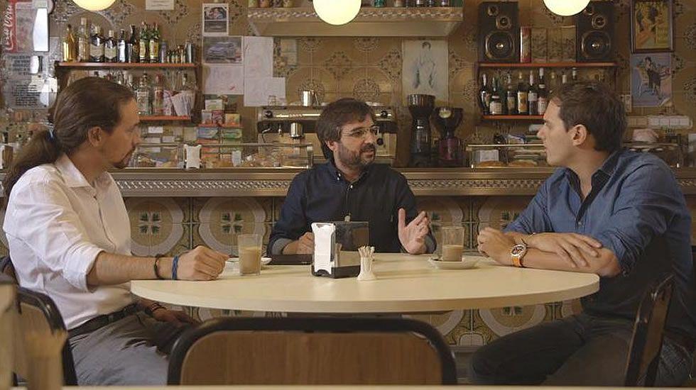 «Salvados»: Pablo Iglesias y Albert Rivera cara a cara