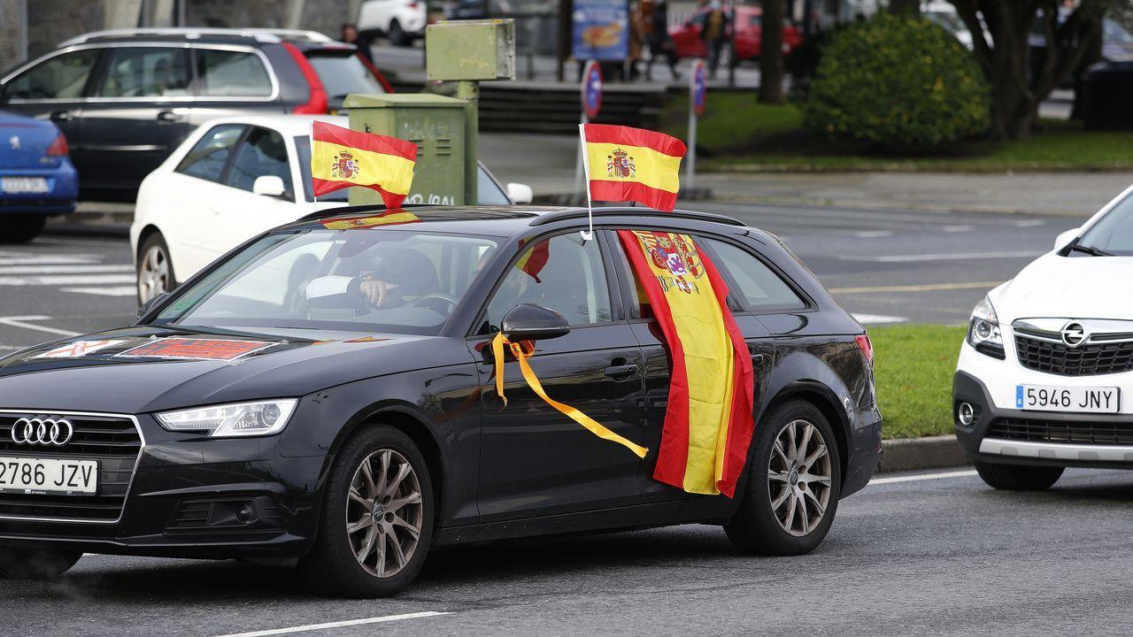 Manifestación contra la Ley Celaá en A Coruña