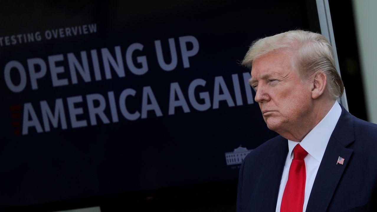 Trump dice non sentirse responsable de las intoxicaciones por desinfectante