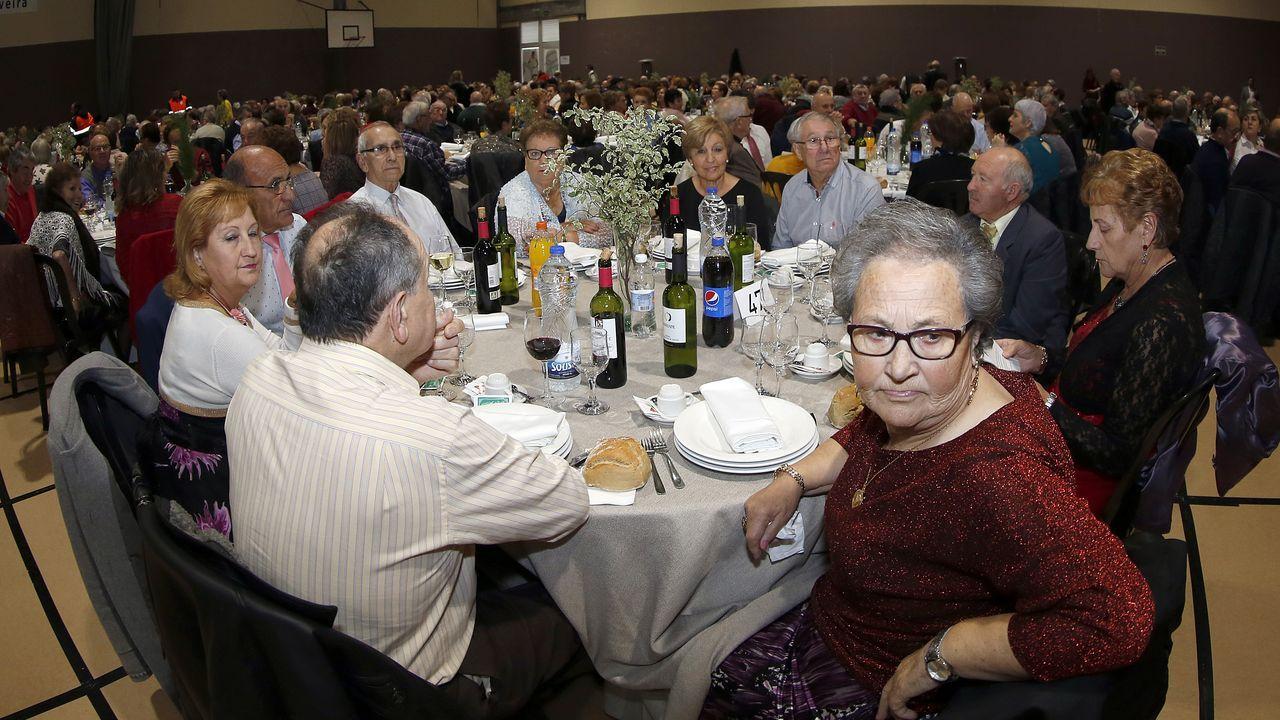 Comida de los mayores en la Fieiteira 2019