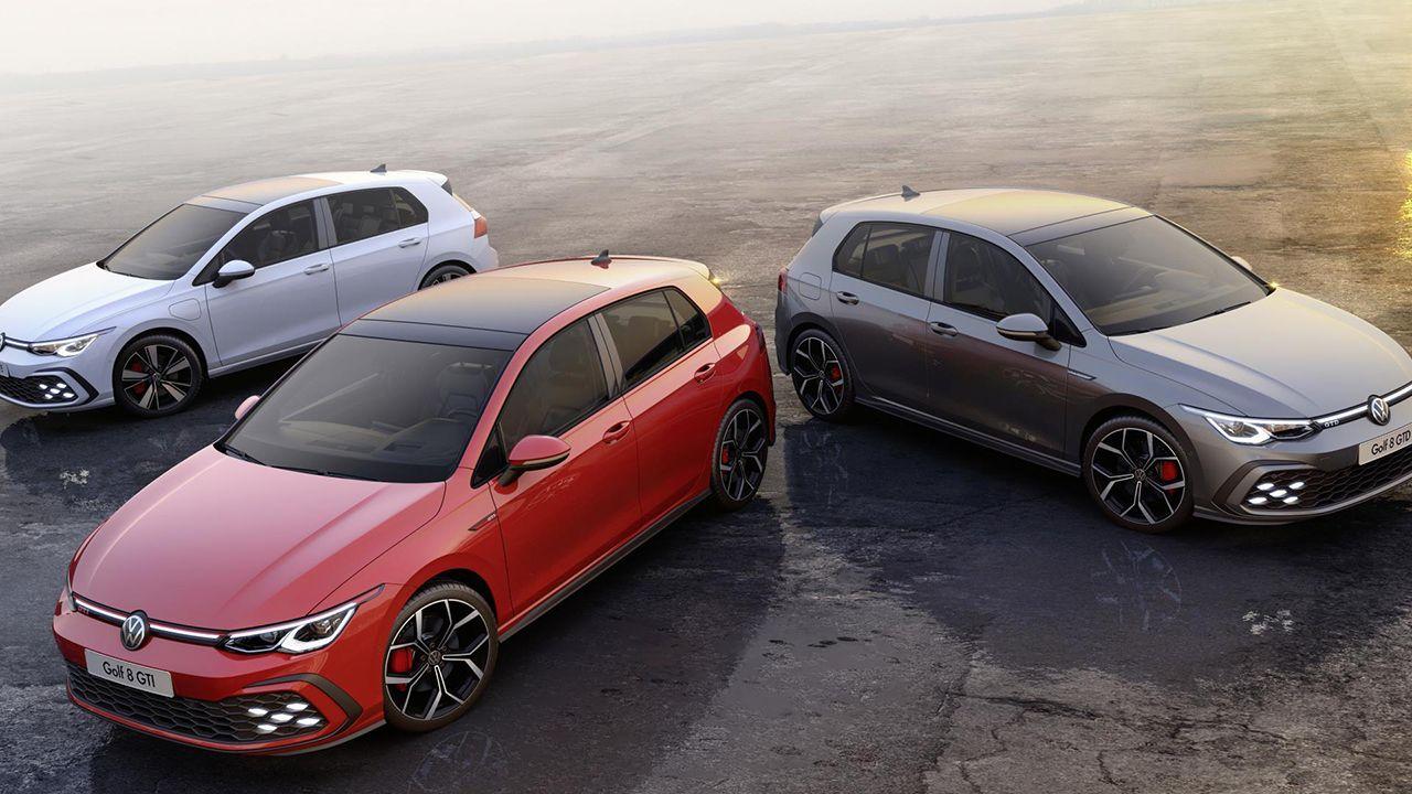 Los nuevos Golf GTI, GTD y GTE