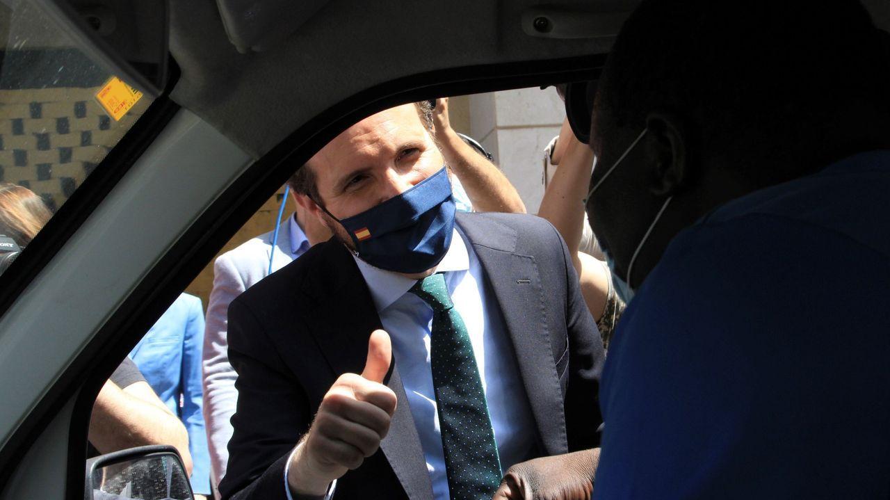 El extesorero del PP Luis Bárcenas durante el juicio por la presunta caja B del PP el pasado 8 de febrero
