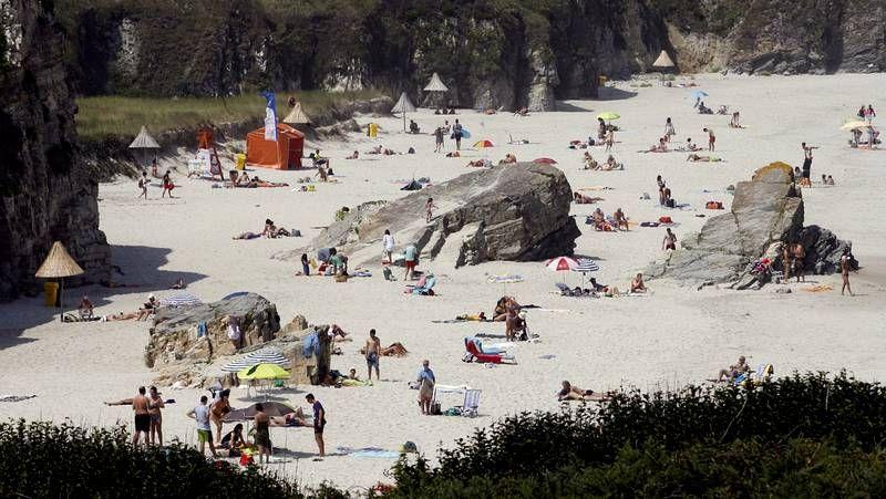 Playas con bandera azul en el 2014.La playa de Razo se ha quedado sin bandera azul.
