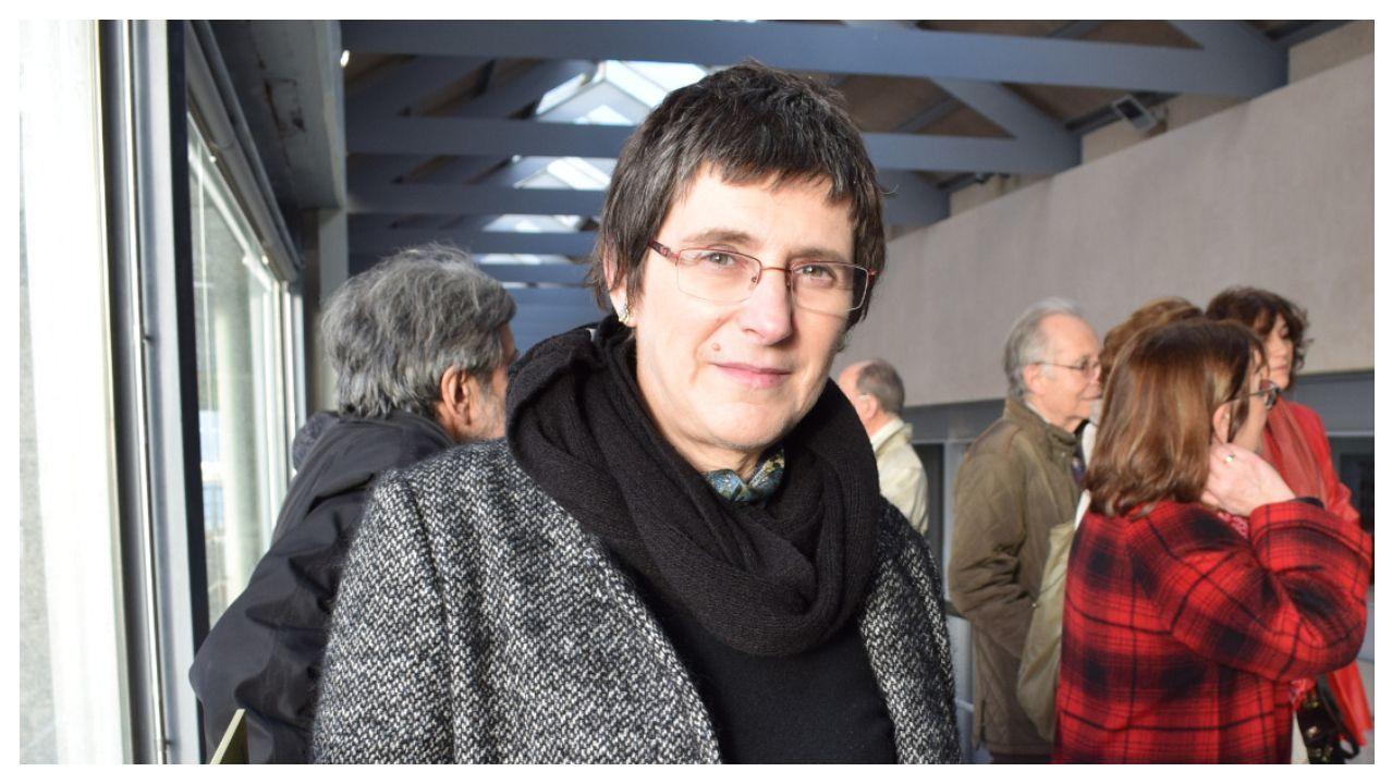 A filóloga Ana Isabel Boullón Agrelo (A Pobra do Caramiñal, 1962)