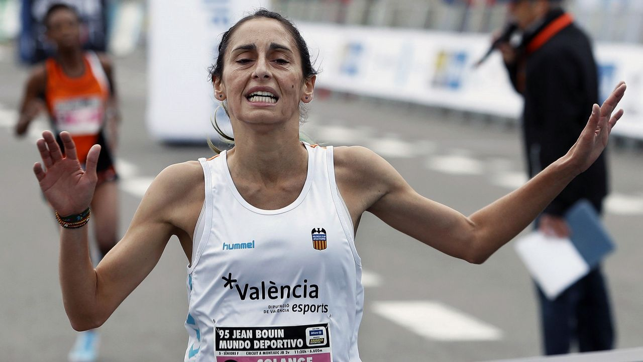 Solange Pereira. Reina de la milla y del crós, es una habitual en las grandes citas internacionales en 1.500 metros
