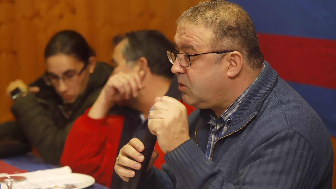 ¡Así se vivió la última asamblea de la Peña Barcelonista do Barbanza!.Protesta de ANC ante la sede de la UE en Barcelona