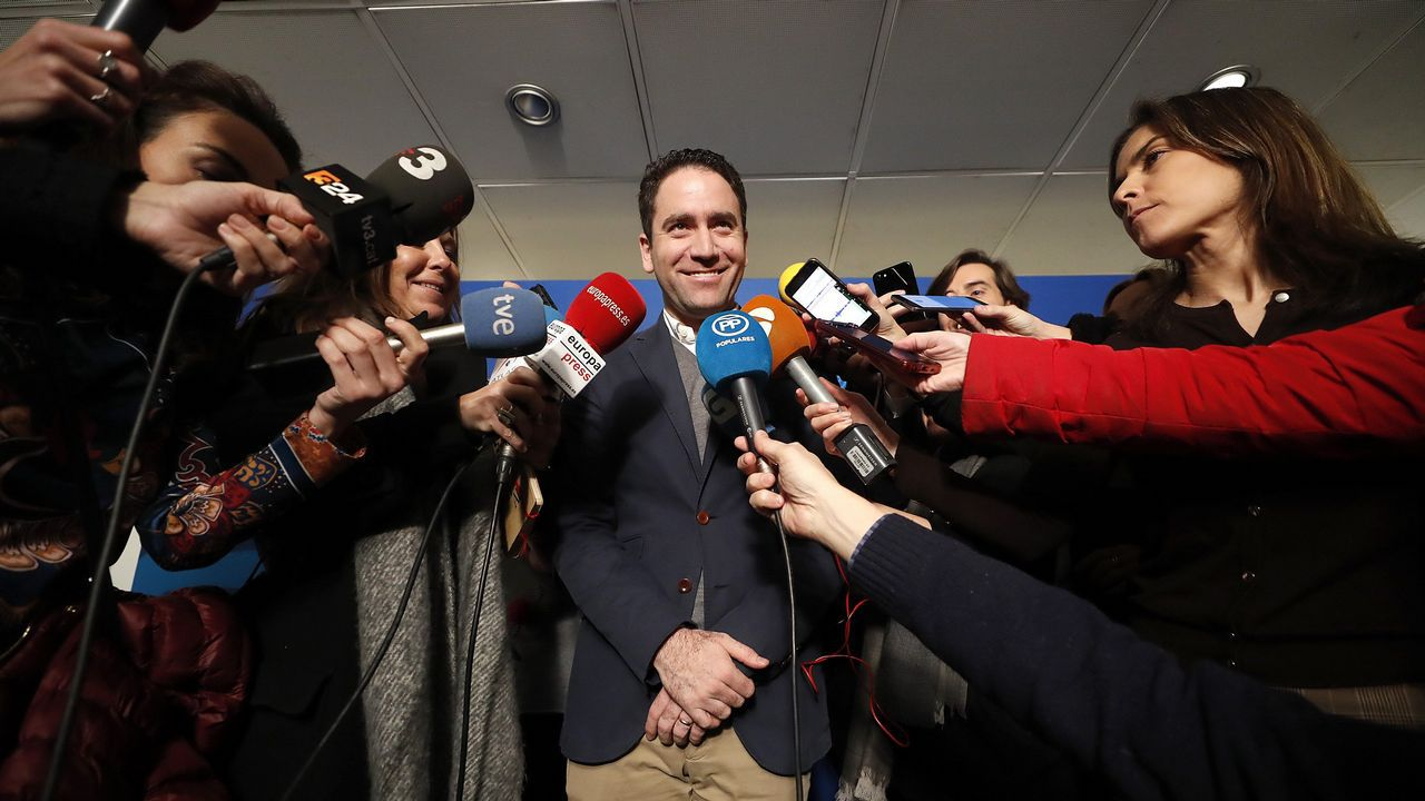 La convención del PP, en imágenes.El secretario general del PP, García Egea, afirma que quieren demostrar que son «un partido del siglo XXI»