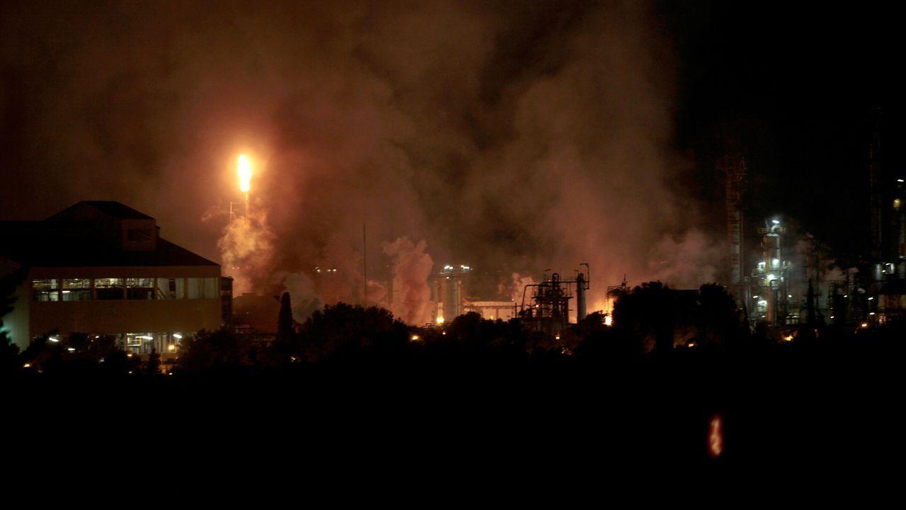 Así fue el momento de la explosión en Tarragona