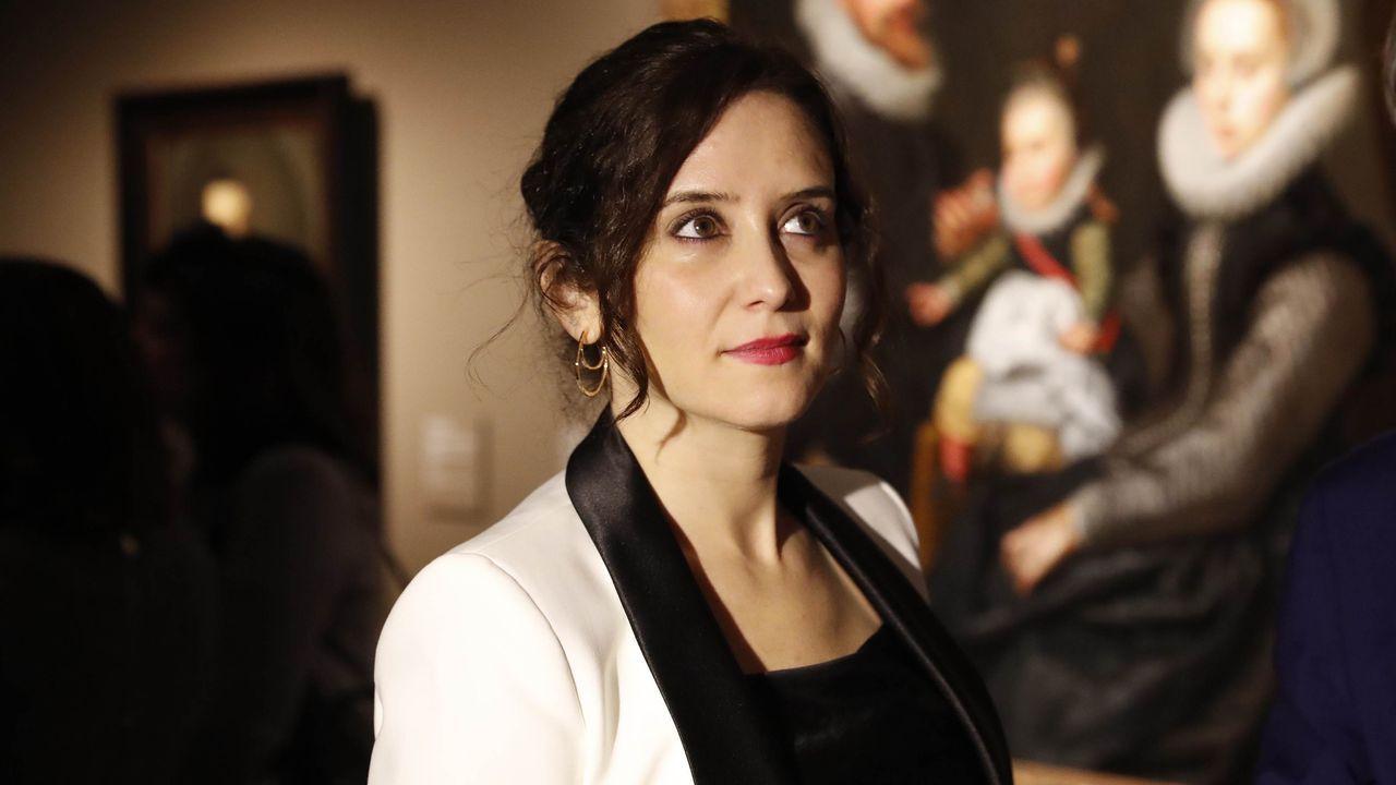 Isabel Díaz Ayuso fue la primera presidenta de comunidad autónoma en anunciar que había dado postivo