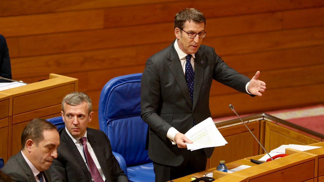 El debate sobre la desigualdad caldeó el Parlamento.Guillermo Martínez
