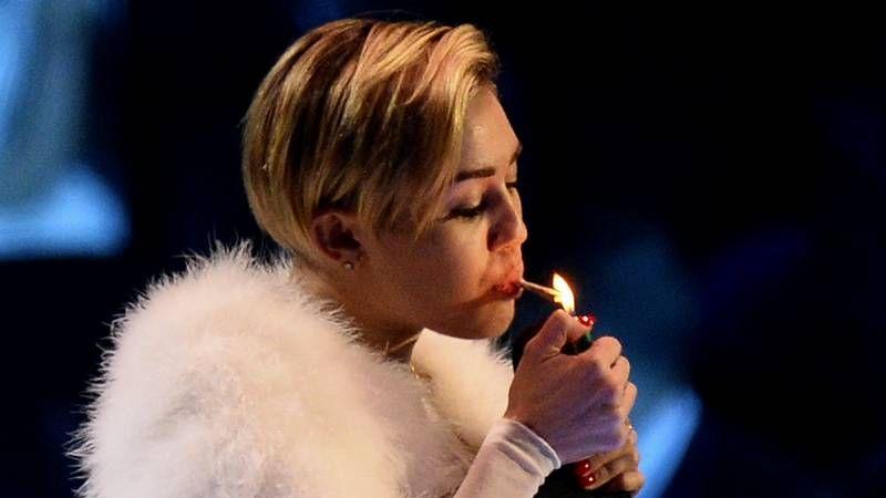 Miley Cyrus se lleva todas las miradas