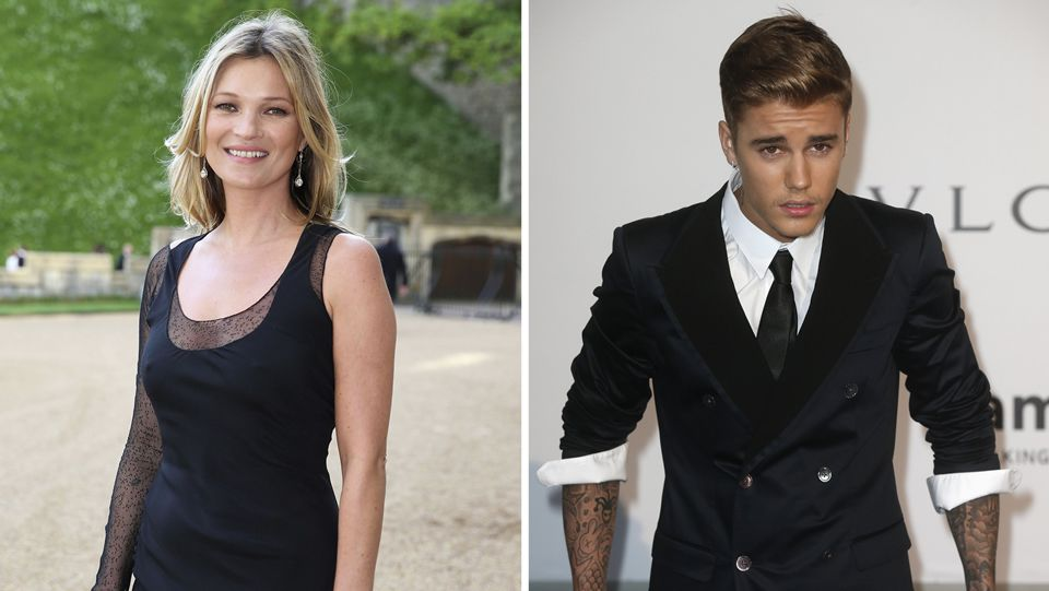 Kate Moss y Justin Bieber