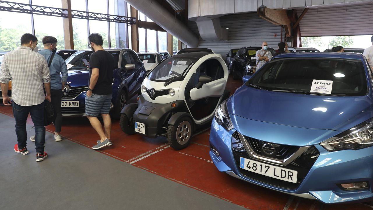 Feria de vehículos de ocasión en Amio