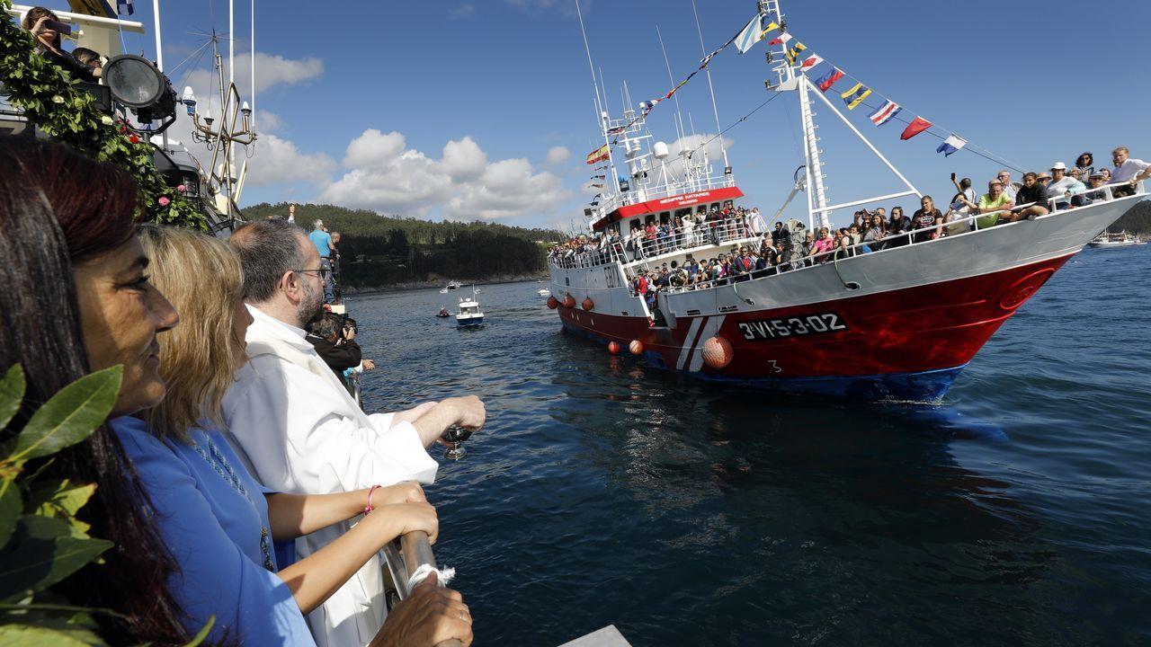 Todas las fotos de laprocesión marítima de Celeiro