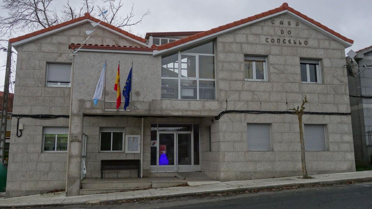 Casa Consistorial de Os Blancos, el municipio que más deuda por habitante tiene de toda Galicia