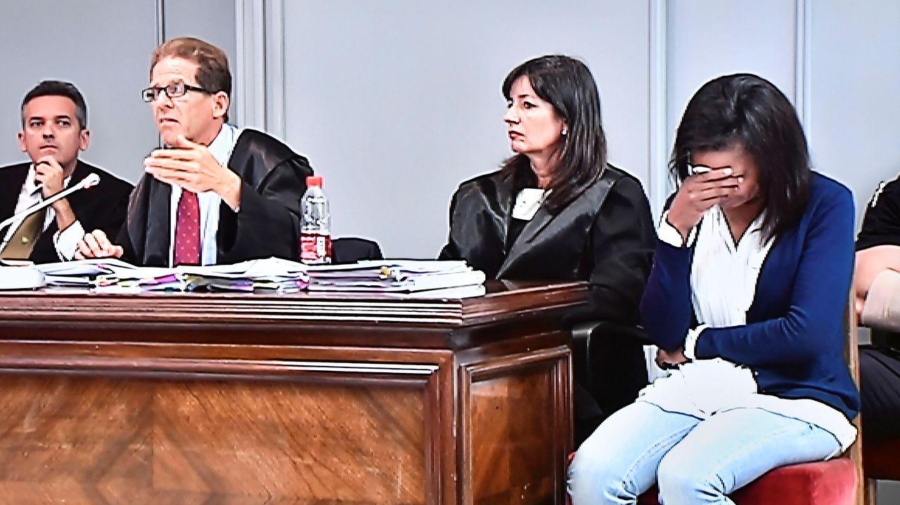 Ana Julia Quezada, durante una sesión del juicio por el asesinato del niño Gabriel