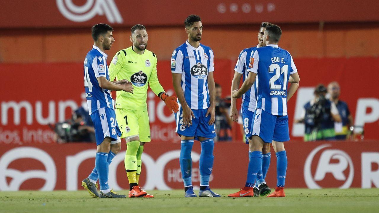 Anquela: «El Deportivo va a salir adelante».Temporada 19/20