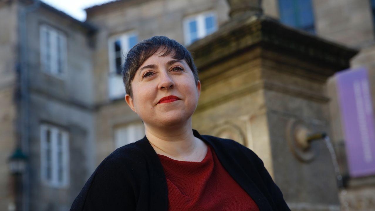 hespe.La editora y escritora Elena Medel, en Santiago