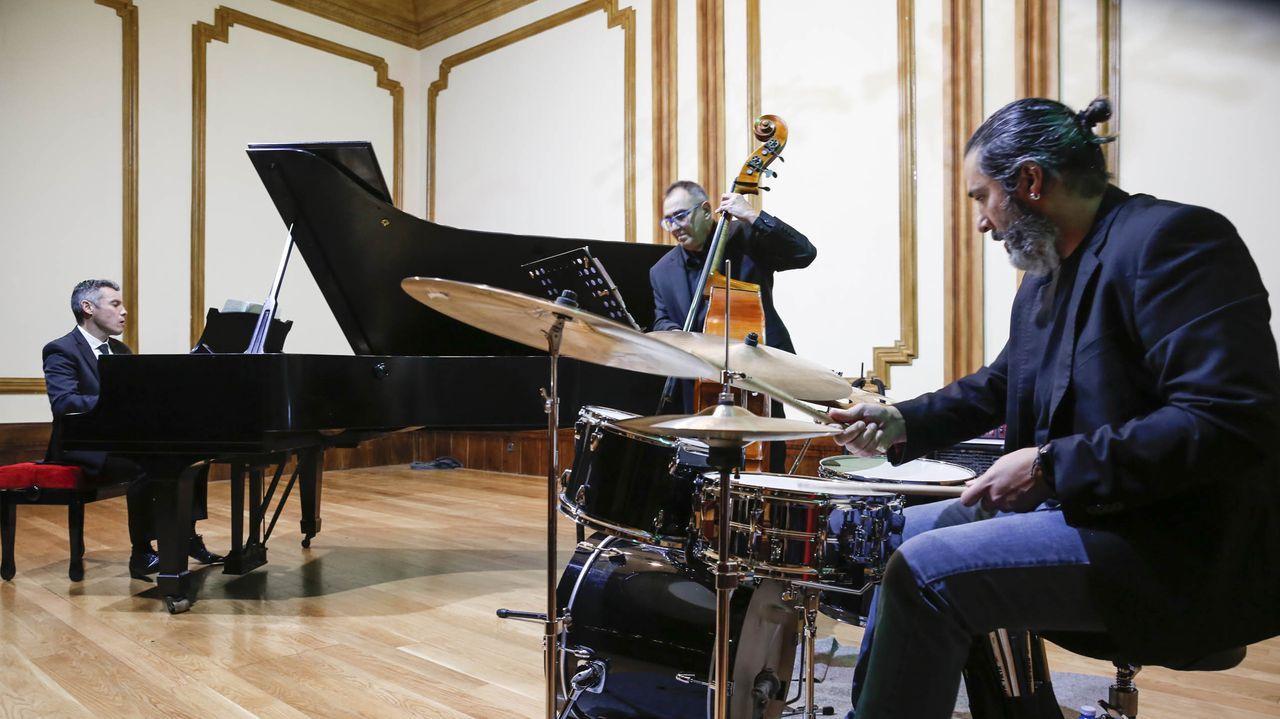 Imagen de archivo de Alfonso Medela Trío, agrupación que integraba a tres de los cuatro músicos
