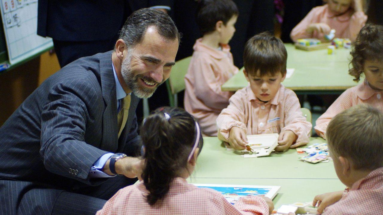 El 16 de septiembre del 2014 inauguraron el curso escolar en el colegio Ben-Cho-Sey de Pereiro de Aguiar (Ourense).