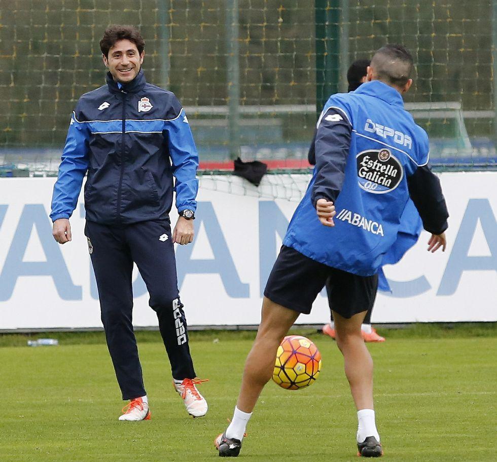 El Dépor ya piensa en el Espanyol.Víctor se declaró muy tranquilo y confiado con las sensaciones que transmite su equipo.
