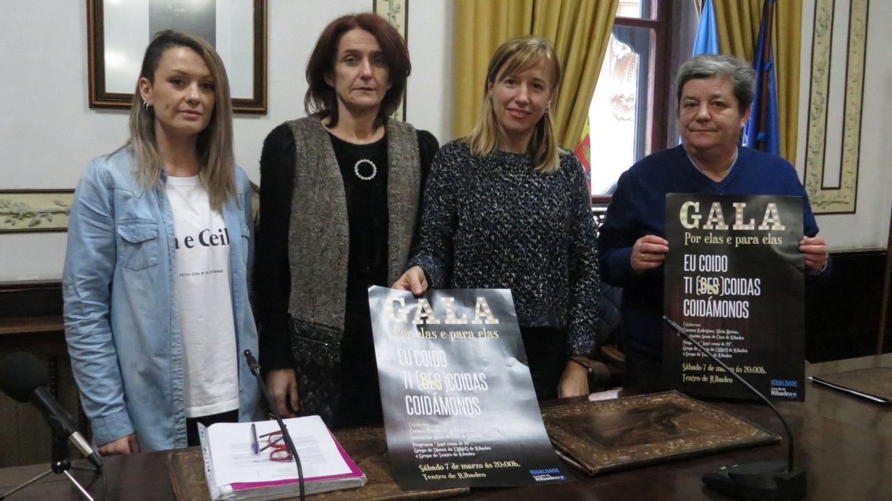 Atasco en los juzgados de Vigo durante la huelga del 2018