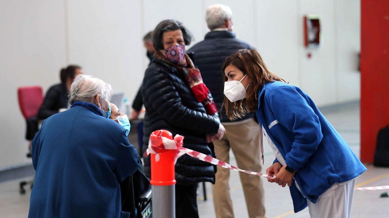 Gijón habilita el Palacio de Deportes como centro de vacunación contra el coronavirus