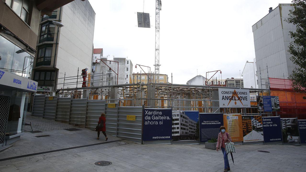 En A Gaiteira se están construyendo 69 viviendas, con precios que irán desde los 140.000 hasta más de 500.000 euros