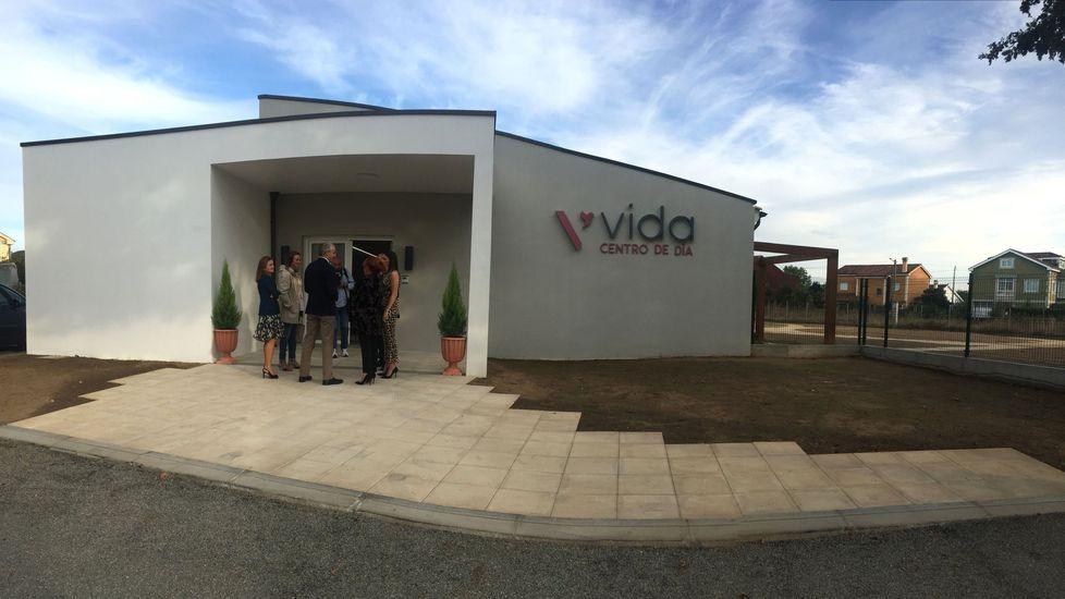 El centro de día de Ribas Altas, en la jornada de su inauguracion