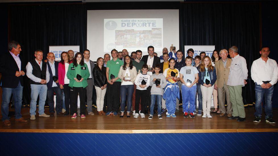 Saleta Fernández, en una de sus visitas a la delegación de La Voz de Galicia en Monforte.