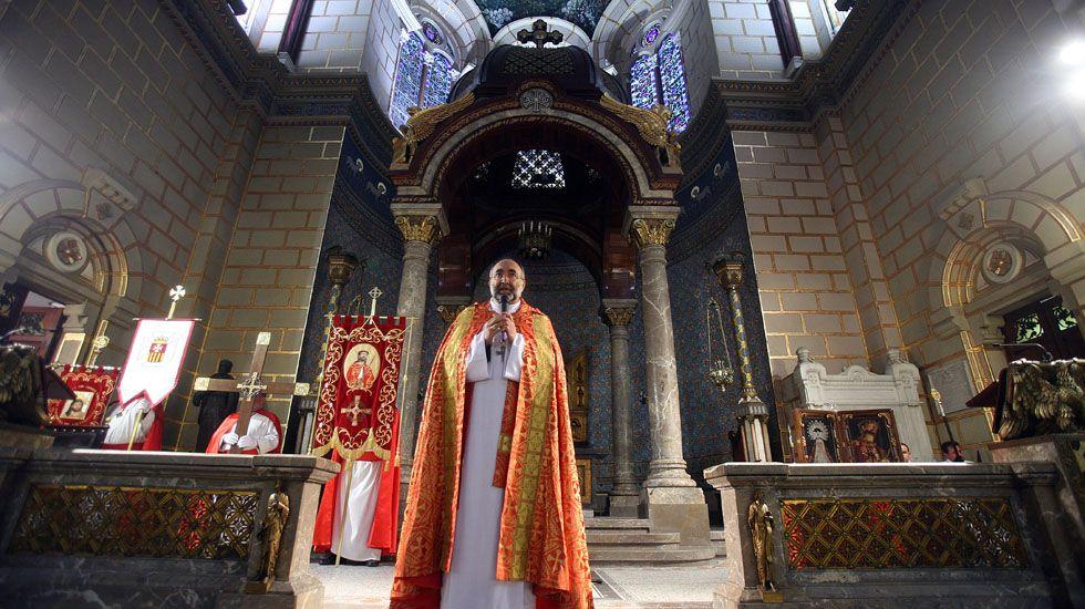 El arzobispo de Oviedo, Jesús Sanz Montes