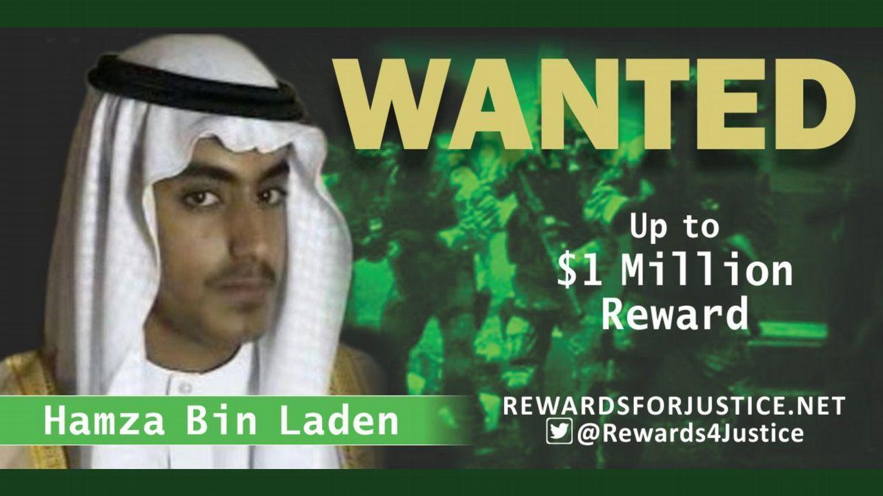 Hamza Bin Laden es el número enemigo número uno del Gobierno de EE.UU: